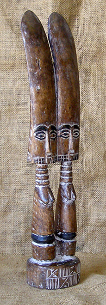 African Traditional art from the Fante Tribe - African Statue
