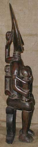 Tribal African Statues from the Fante