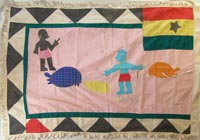 African Flags - Fante Flag 13