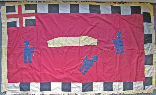 African Antique Flags from GenuineAfrica.com