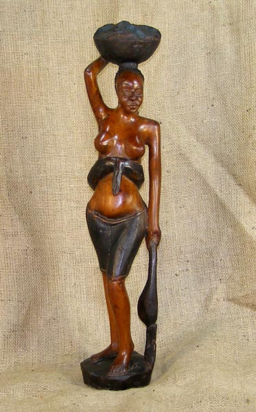 African Artwork from the Fulani Tribe - African Antique