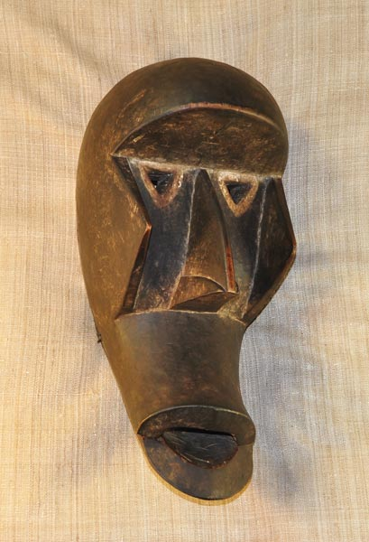 Africian Mask from the Grebo Tribe of Mali and Burkina Faso