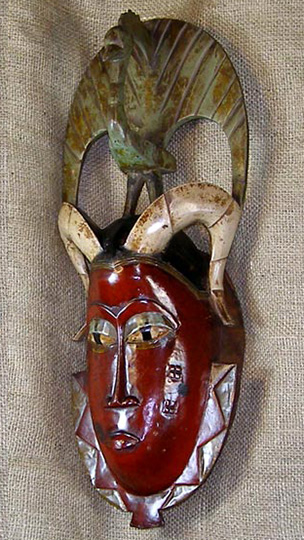 African Traditional art from the Guro Tribe - African Mask
