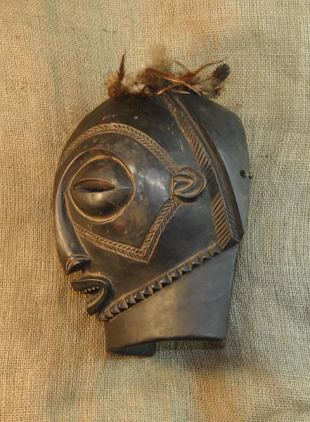 Africian Mask from the Hemba Tribe of Mali and Burkina Faso
