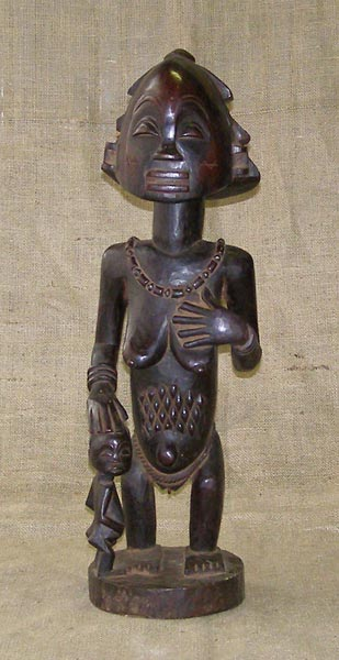 Tribal African Statues from the Hemba