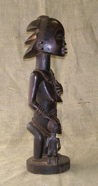 African Traditional art from the Hemba Tribe - African Statue
