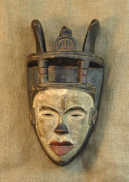 African Traditional art from the Ibiobio Tribe - African Mask