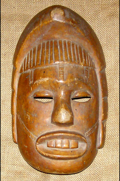 Africian Mask from the Igbo Tribe of Nigeria