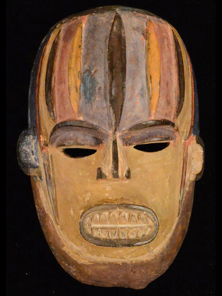 African Mask from the Igbo Tribe of Nigeria