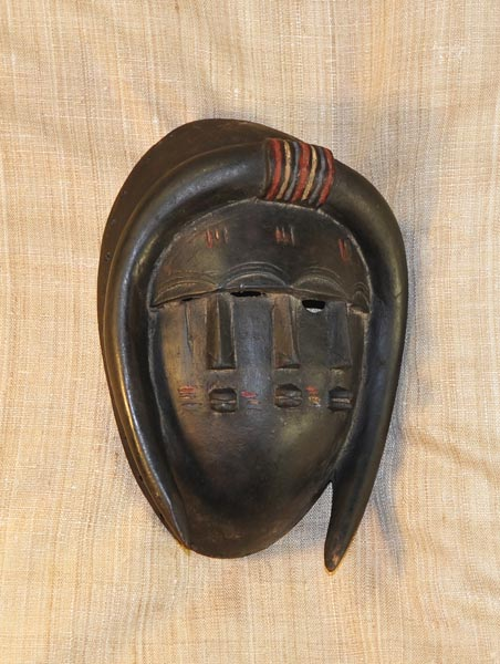 Africian Mask from the Jimini Tribe of Guinea