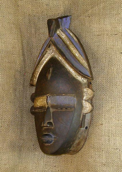 African Jimini Mask and African Sculptures