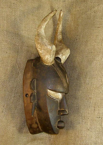 African Traditional art from the Jimini Tribe - African Mask