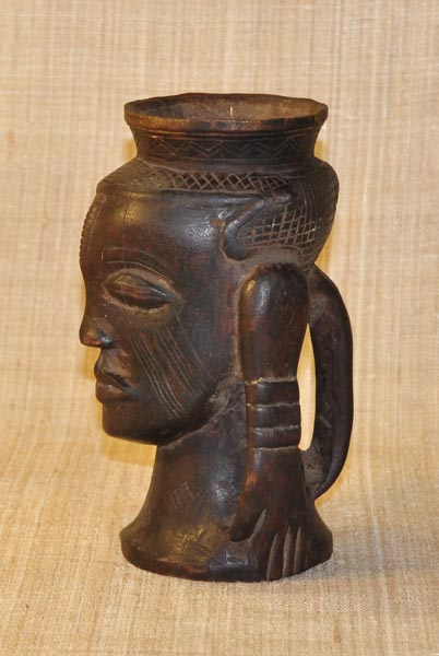 Africian Cup from the Kuba Tribe of Congo