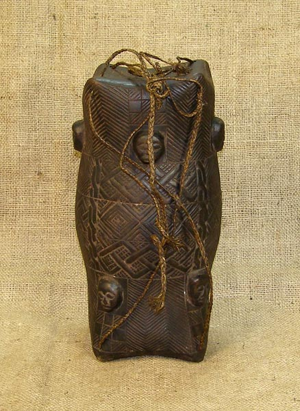 African Traditional art from the Kuba Tribe - African Box