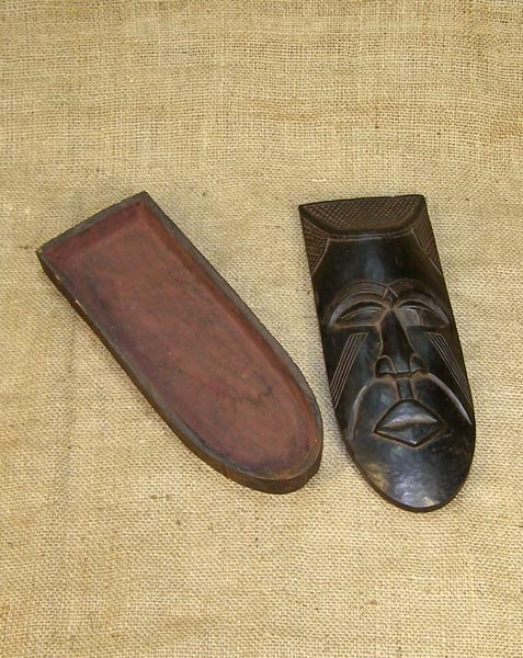Africian Box from the Kuba Tribe of Congo