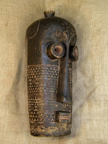 African Mask from the Kuba Tribe of Congo