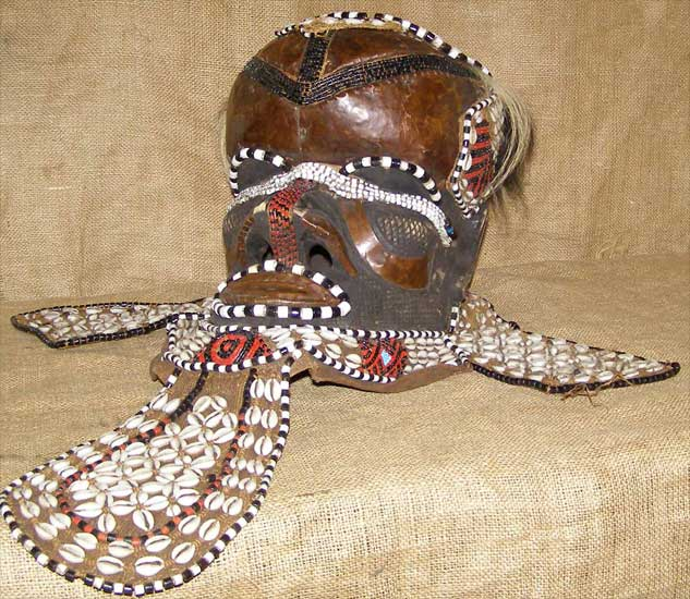 Tribal African Masks from the Kuba