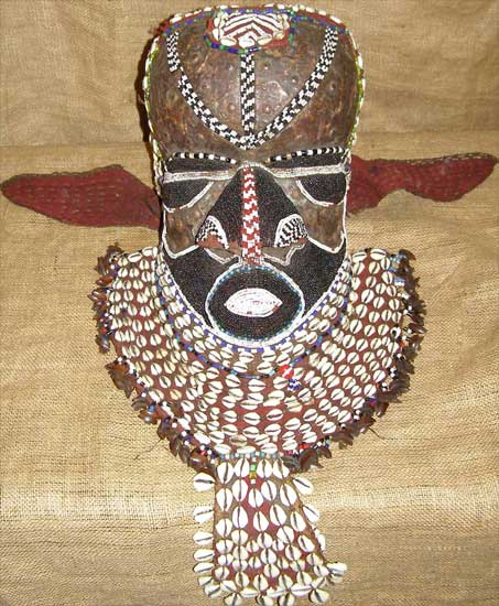 Buy African Art - Kuba Masks