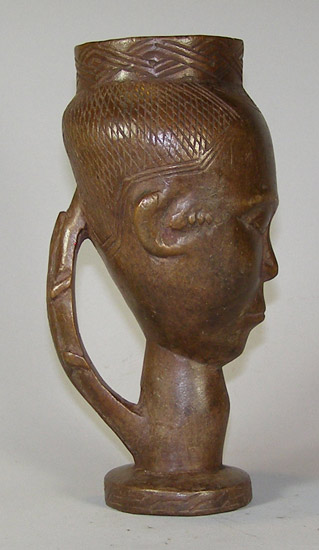 Tribal African Cups from the Kuba