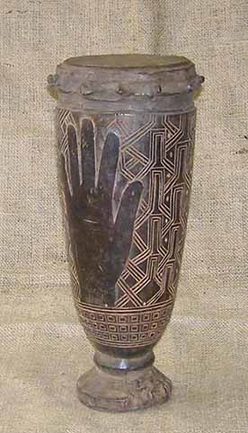 Buy African Art - Kuba Drums