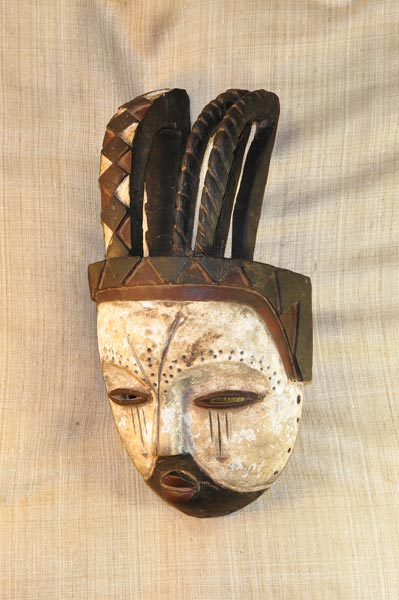 Buy African Art from the Kwele Tribe