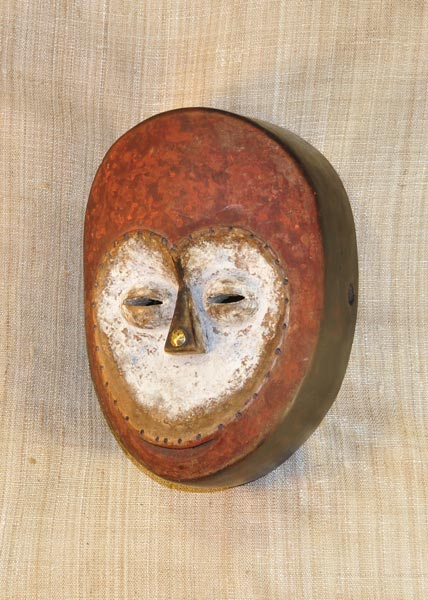 Tribal African Masks from the Kwele