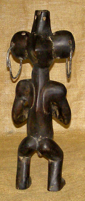 African Kwele Statue and African Sculptures
