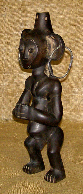 African Traditional art from the Kwele Tribe - African Statue