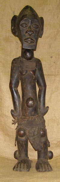 Africian Statue from the Kwele Tribe of Gabon