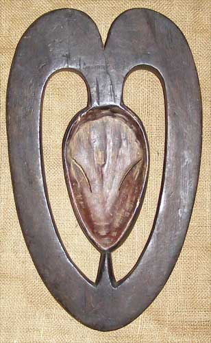African Artwork from the Kwele Tribe - African Antique