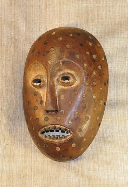 Africian Mask from the Lega Tribe of Congo