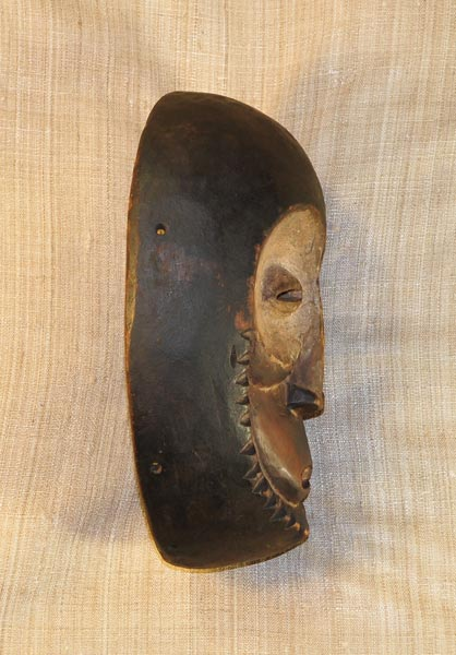 African Lega Mask and African Sculptures