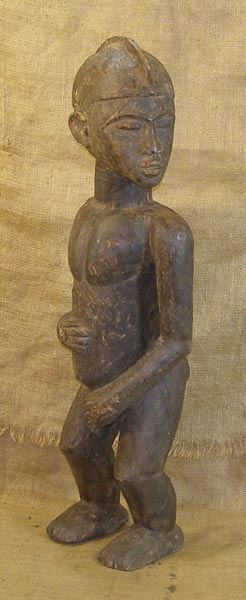 Africian Statue from the Lobi Tribe of Ghana, Ivory Coast, and Burkina Faso