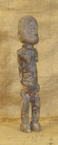 African Traditional art from the Lobi Tribe - African Statuette