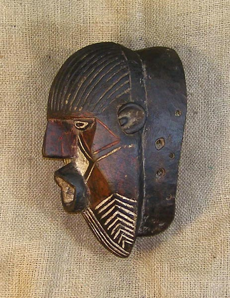 Tribal African Masks from the Luena