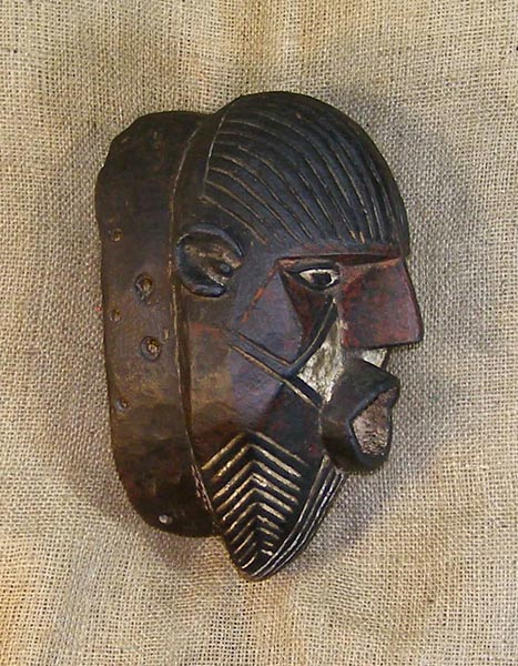 Buy African Art - Luena Masks