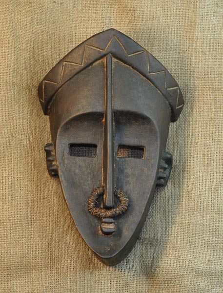 Tribal African Masks from the Lulua