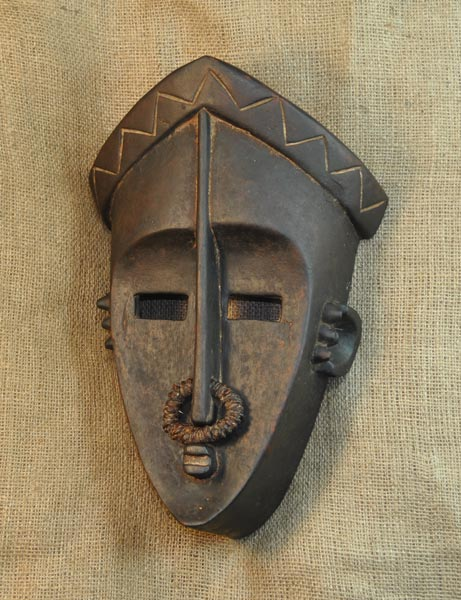 African Mask from the Lulua Tribe of Democratic Republic of Congo