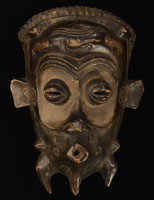 Lulua Mask 10: Click for more views of this African Mask.