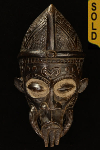 African Lulua Mask for sale