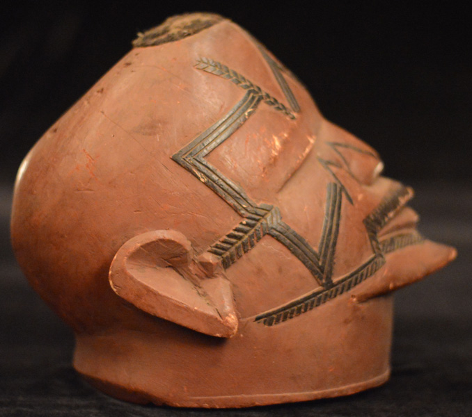 Africian Helmet from the Makonde Tribe of Tanzania
