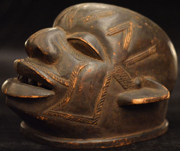 Tribal African Helmets from the Makonde