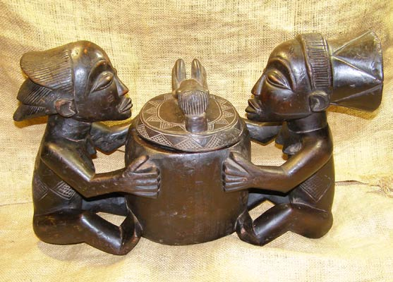 Tribal African Pots from the Mambila