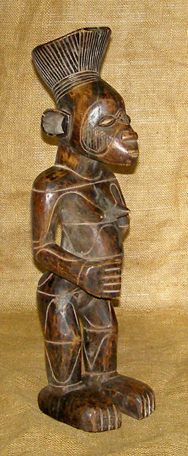 African Traditional art from the Mambila Tribe - African Statue