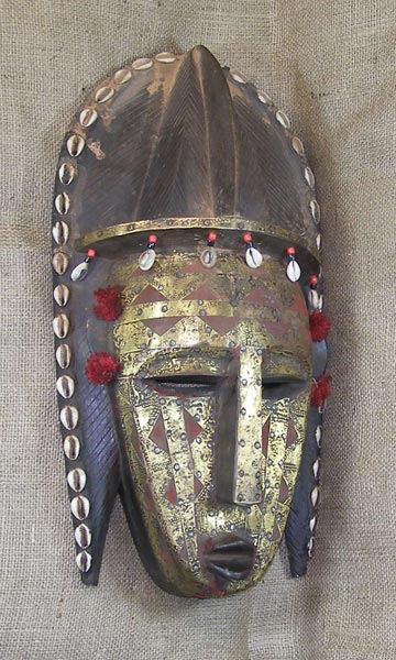 African Traditional art from the Marka Tribe - African Mask