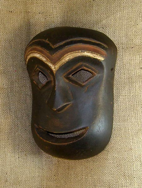 African Mbole Mask and African Sculptures