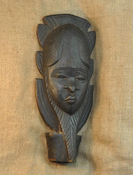Africian Mask from the Mende Tribe of Sierra Leone