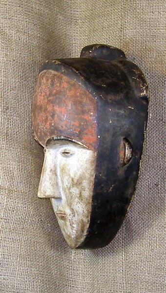Tribal African Masks from the Mitsogo