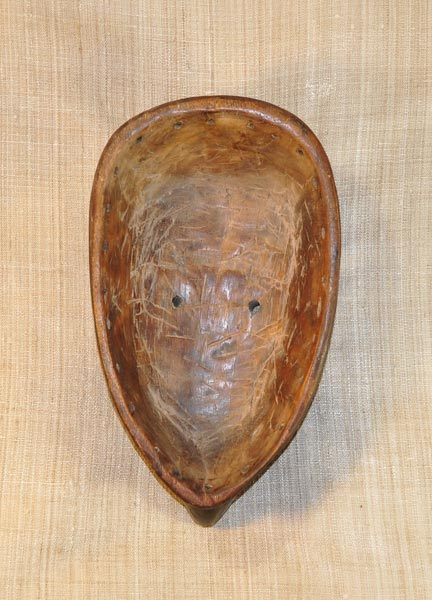 African Mumuye Mask and African Sculptures