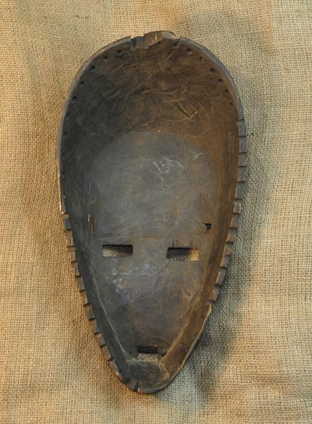 Africian Mask from the Ngbaka Tribe of Democratic Republic of Congo